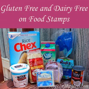 Gluten Free and Dairy Free on Food Stamps Budget